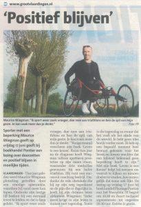 Maurice Wiegman - Positief blijven